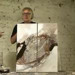 Zwei Künstler in Aktion (2)
