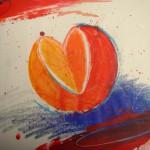 Herz Orange