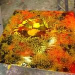 "Special Paintings  ""Acrylic Adhäsion"""