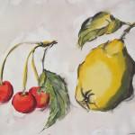 Kirschen und Quitte
