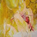 Golden sunny girl