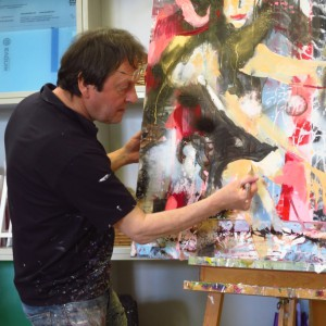 Painting Abstract Model