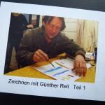 """Blick ins Buch """"Zeichnen mit Günther Reil"""""""